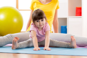 mother-her-daughter-kid-doing-sport